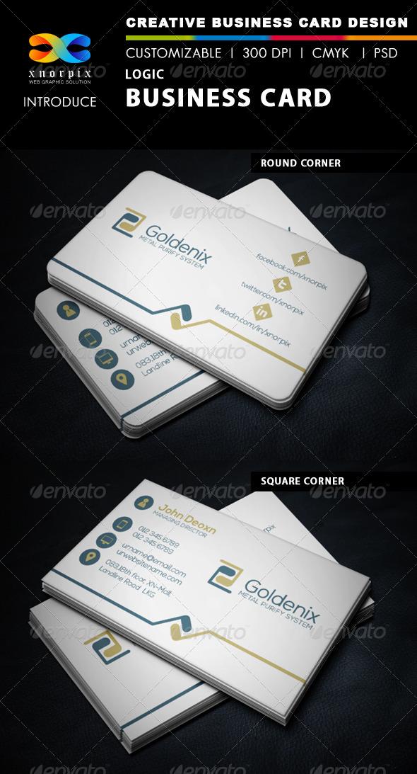Logic Business Card - Corporate Business Cards