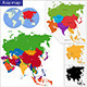 Asia Map - GraphicRiver Item for Sale