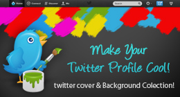 Twitter Cover & Background Design