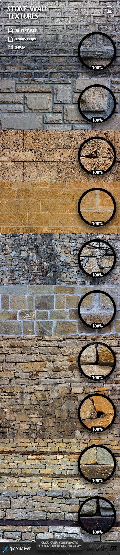 Stone Wall Textures - Stone Textures