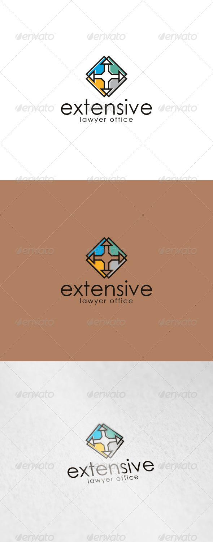 Extensive Logo - Vector Abstract