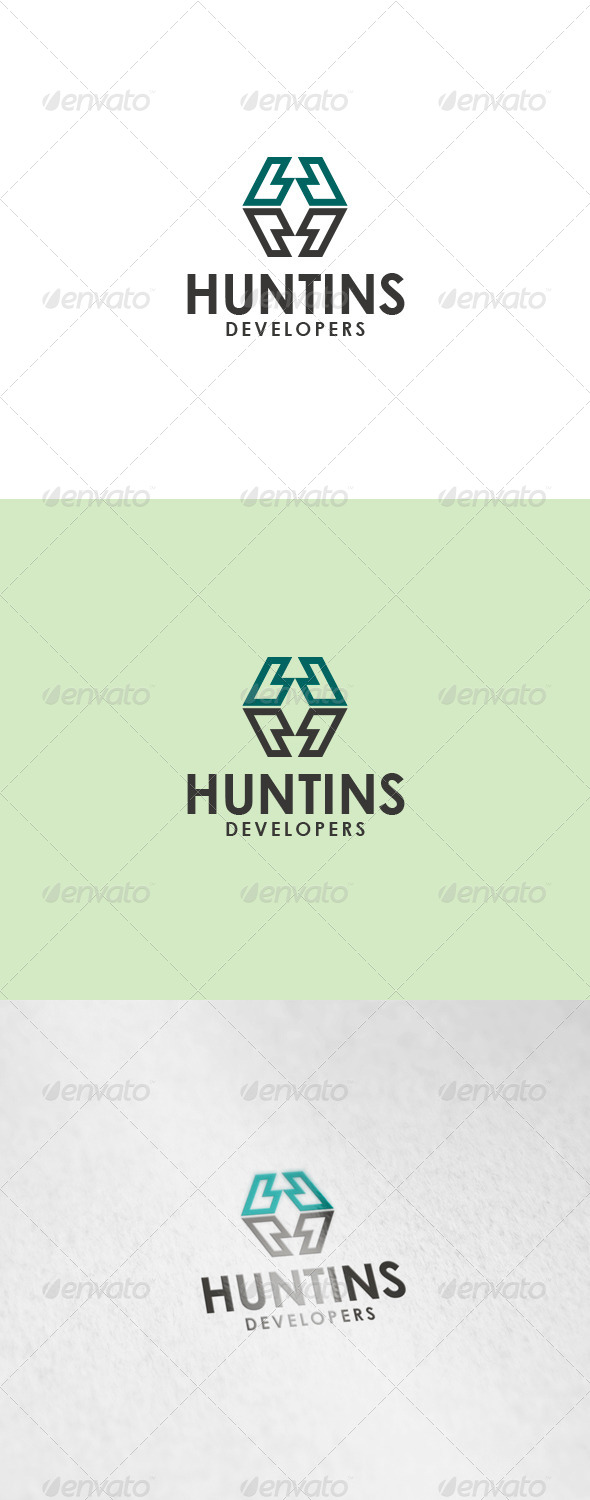 Huntins Logo - Letters Logo Templates
