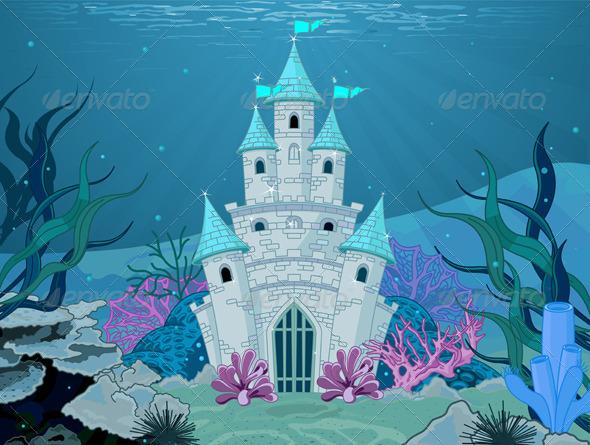Mermaid Castle  - Buildings Objects