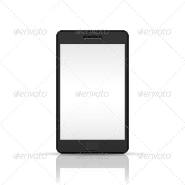 Black Smartphone - Communications Technology