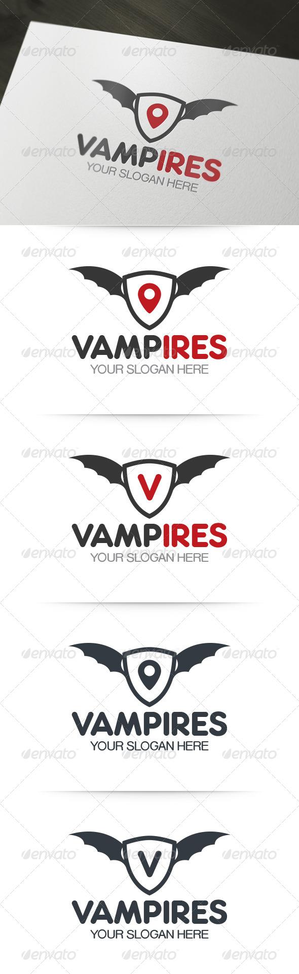 Vampires Logo - Symbols Logo Templates