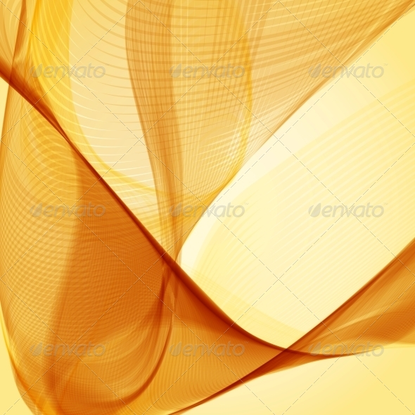 Yellow Abstract Background - Backgrounds Decorative