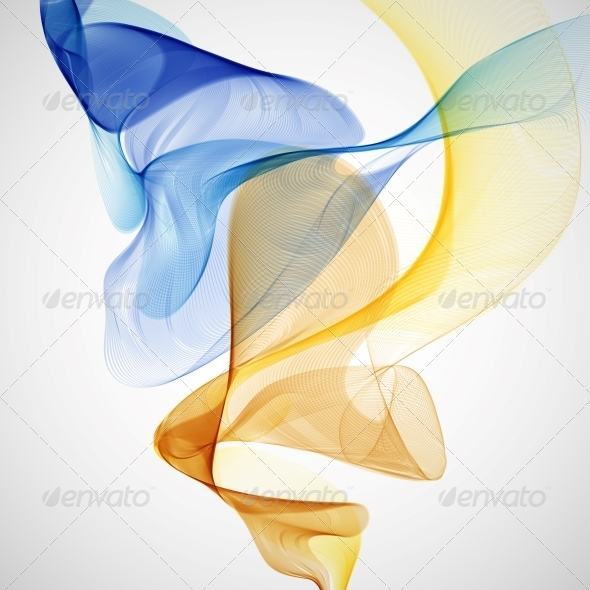 Colorful Abstract Background - Backgrounds Decorative