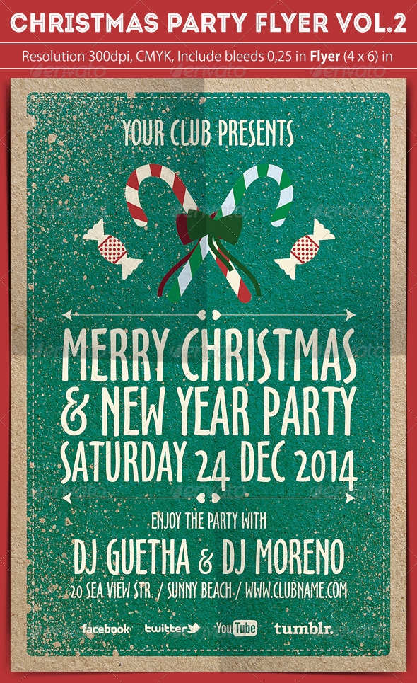 Christmas Party Flyer Vol.2 - Clubs & Parties Events