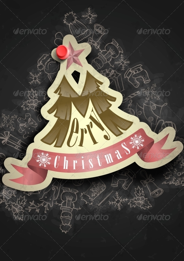 Christmas Sticker - Christmas Seasons/Holidays