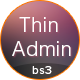 Thin Admin Template Nulled