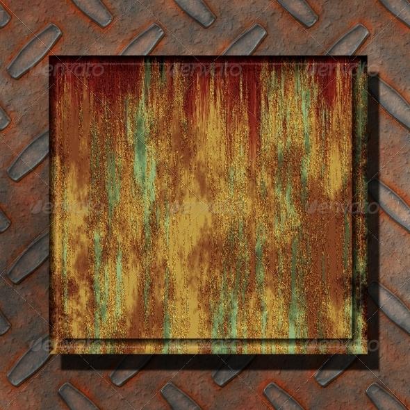 Rust metal plates - Metal Textures