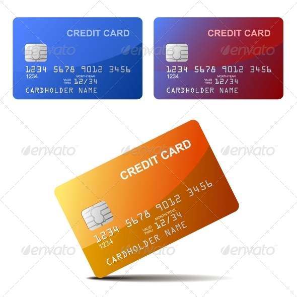 Realistic Credit Card - Retail Commercial / Shopping