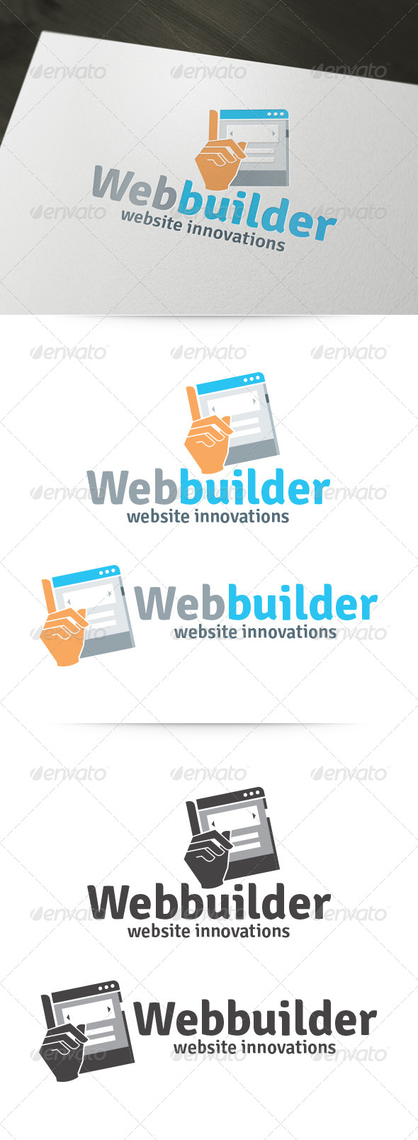 Web Builder Logo - Logo Templates
