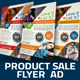 Product Sale Flyer Ad Template v2 - GraphicRiver Item for Sale