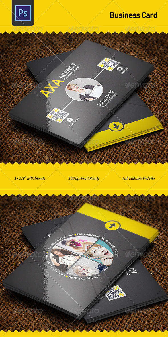 Business card by fgunay graphicriver business card business cards print templates reheart Gallery