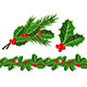 Holly Leaves and Berries  - GraphicRiver Item for Sale