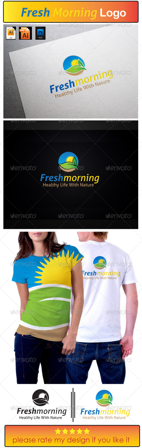 Fresh Morning - Nature Logo Templates