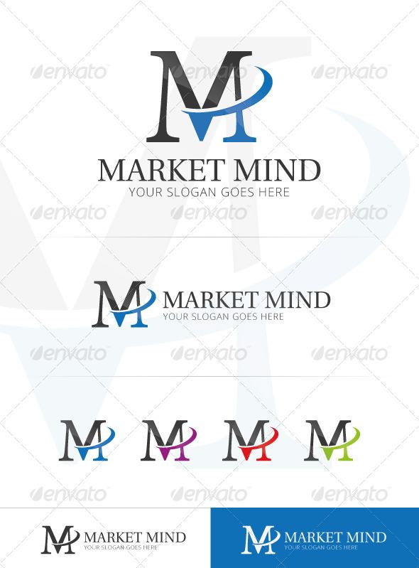 Market Mind - Letters Logo Templates