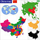 China Map - GraphicRiver Item for Sale