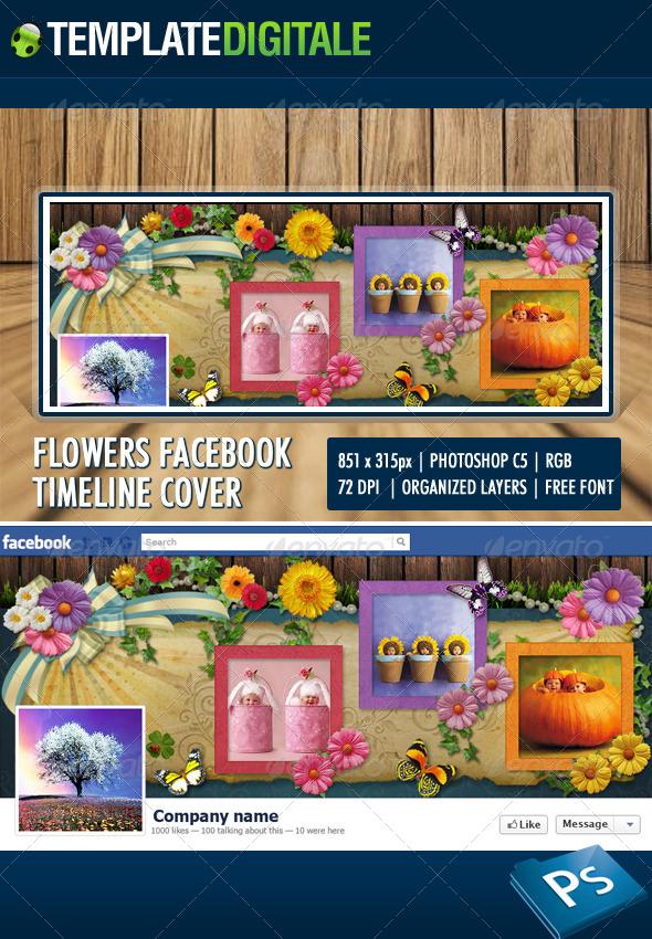 Flowers Facebook Timeline - Facebook Timeline Covers Social Media