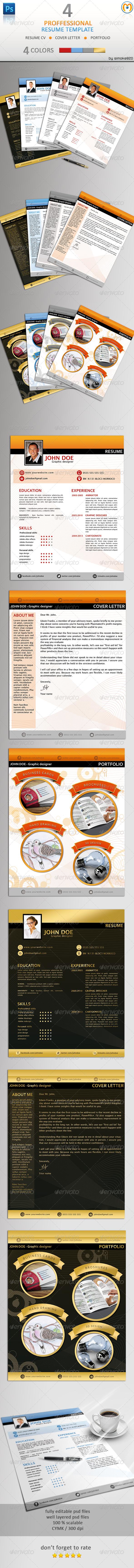 Professional Resume - CV - V.2 - Resumes Stationery