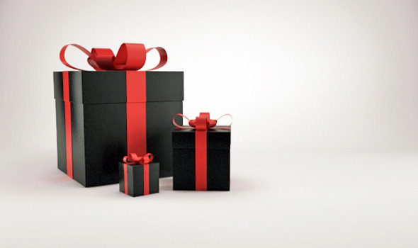 Christmas Gift Box Presents V2 By Cinema4dmad 3docean