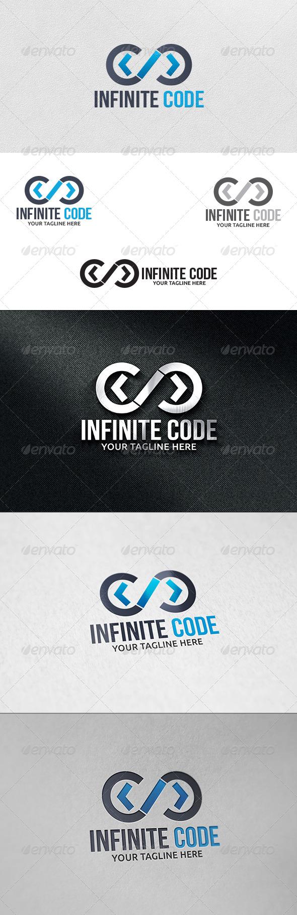 Infinite Code - Logo Template - Symbols Logo Templates
