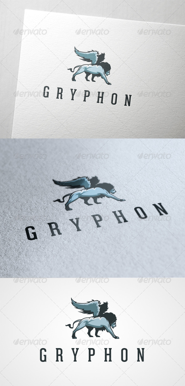 Gryphon - Animals Logo Templates