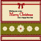 Set of Four Vintage Xmas Greeting Cards - GraphicRiver Item for Sale