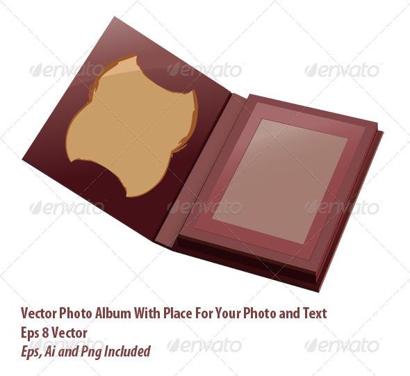 Photo Album - Objects Vectors