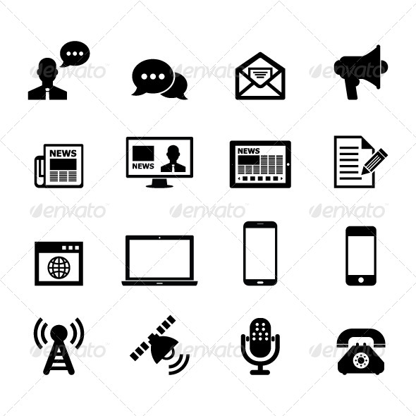 Communication Icon - Media Icons