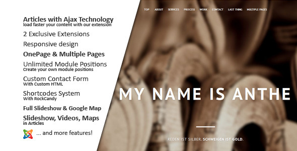 Image of Anthe :: Joomla