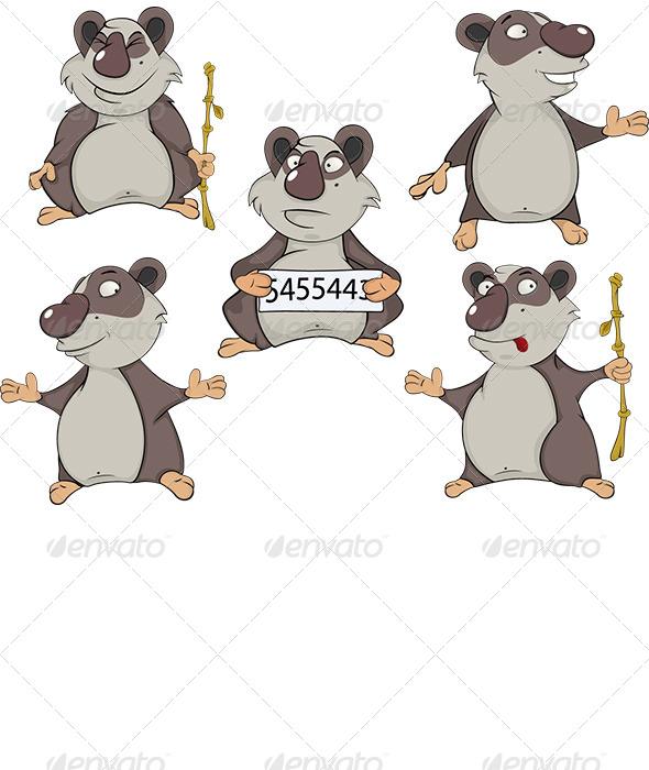 Panda Clip Art - Animals Characters