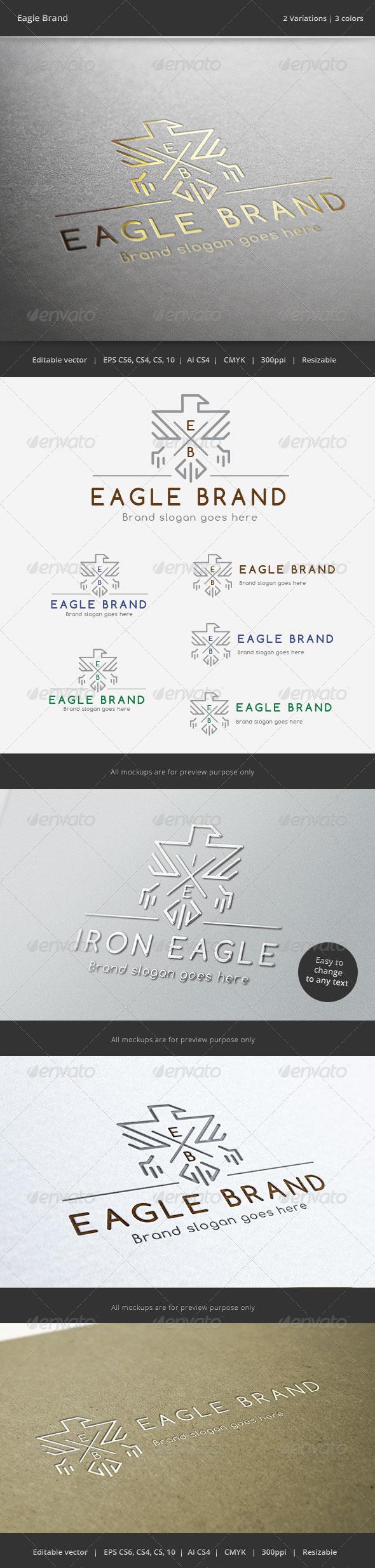 Eagle Brand Crest Logo - Crests Logo Templates