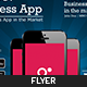 Mobile App Promotion Flyer  - GraphicRiver Item for Sale