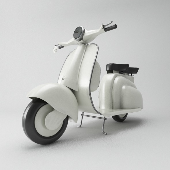 Vespa - 3DOcean Item for Sale