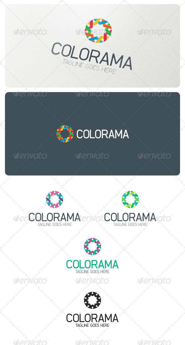 Colorama Logo Template - Abstract Logo Templates