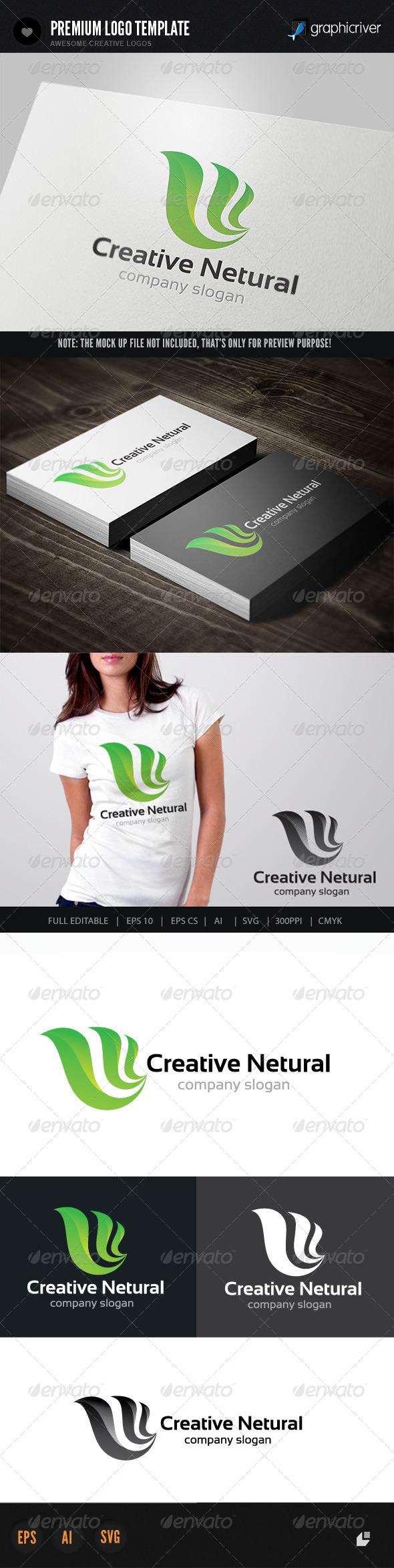 Creative Netural - Nature Logo Templates