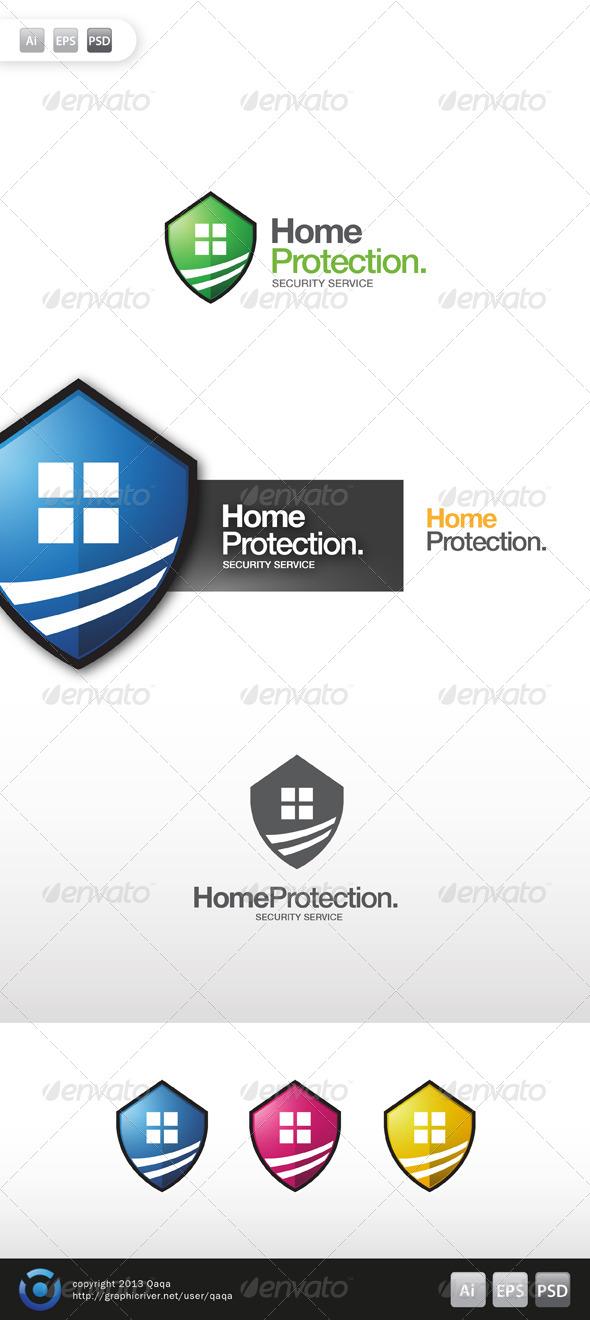 Home Protection Logo - Buildings Logo Templates