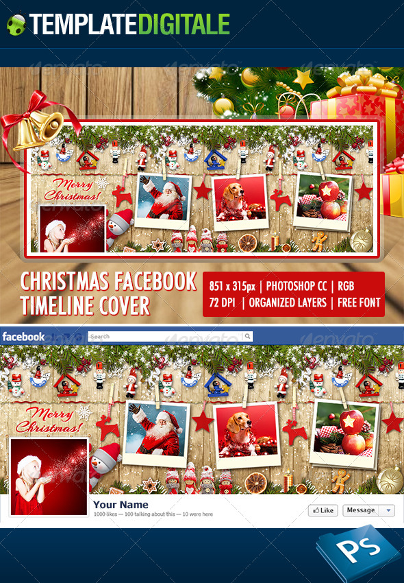 Christmas Facebook Timeline - Facebook Timeline Covers Social Media