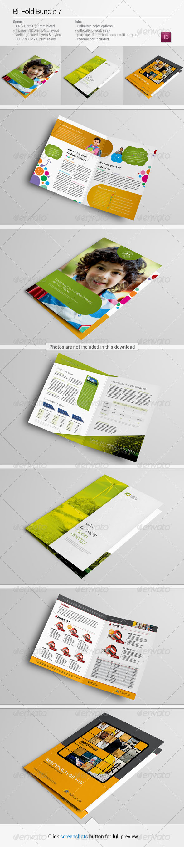 Bi-Fold Bundle 7 - Corporate Brochures