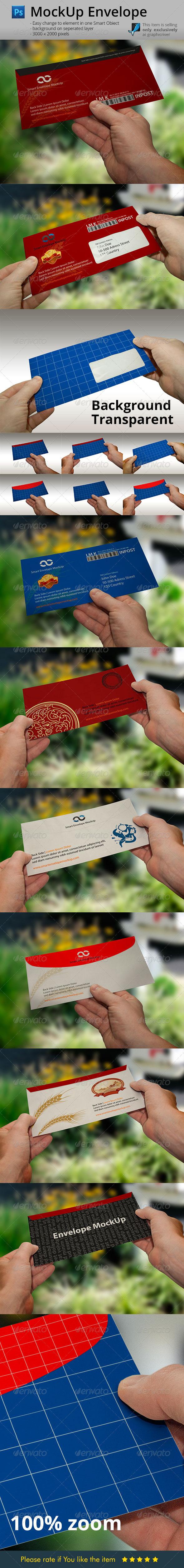 Envelope Hands Mock-Up - Miscellaneous Print