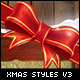 Christmas Photoshop Styles V3 - GraphicRiver Item for Sale