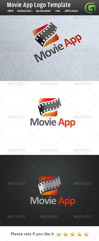Movie App - Symbols Logo Templates
