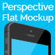 Perspective Flat Mock-Up - GraphicRiver Item for Sale