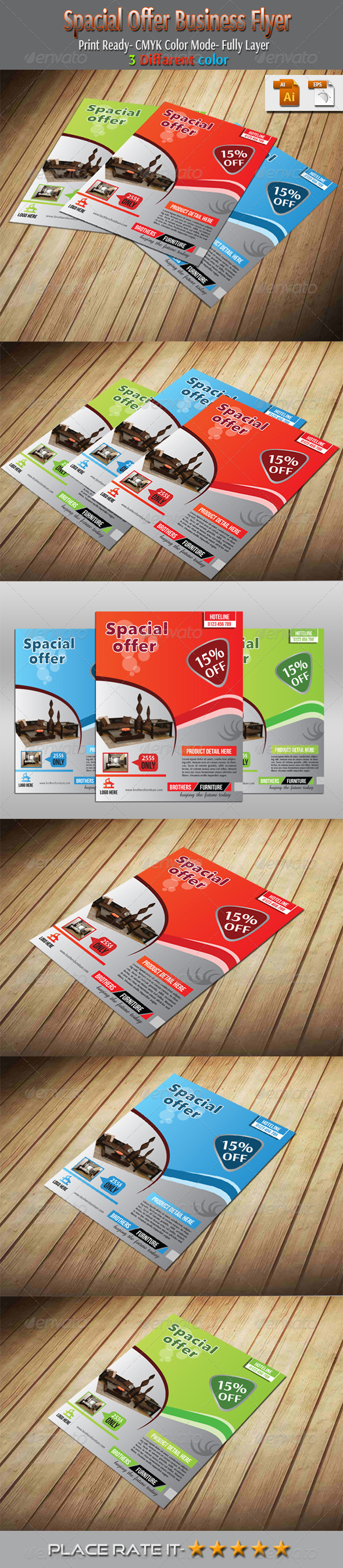 Spacial Offer Business Flyer - Commerce Flyers