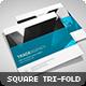 Trade Agency - Square Tri-fold Brochure - GraphicRiver Item for Sale