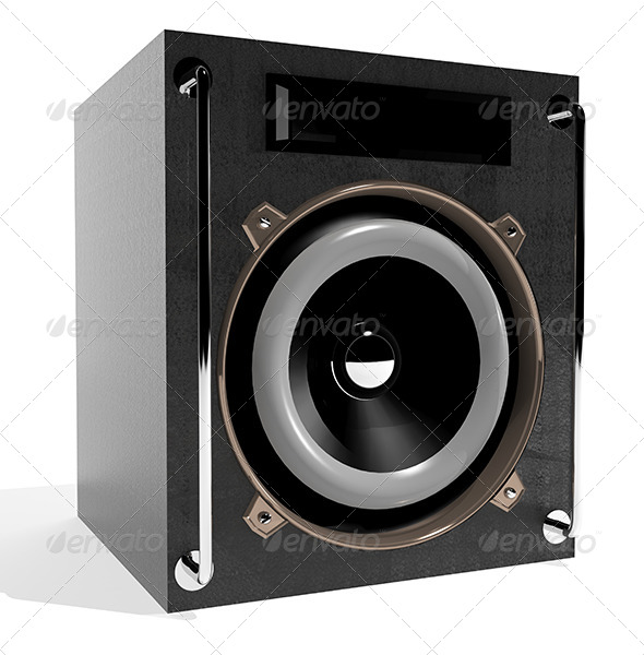 Subwoofer - Objects 3D Renders