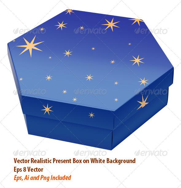 Present Box - Objects Vectors