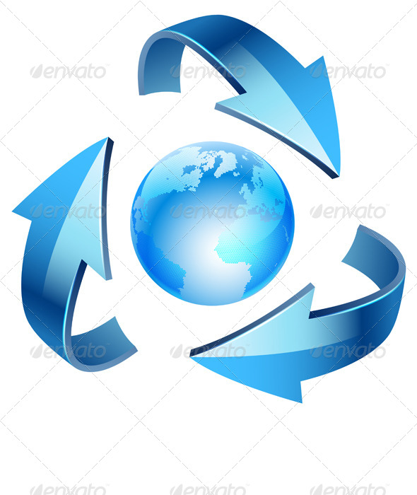 Recycle Icon - Concepts Business